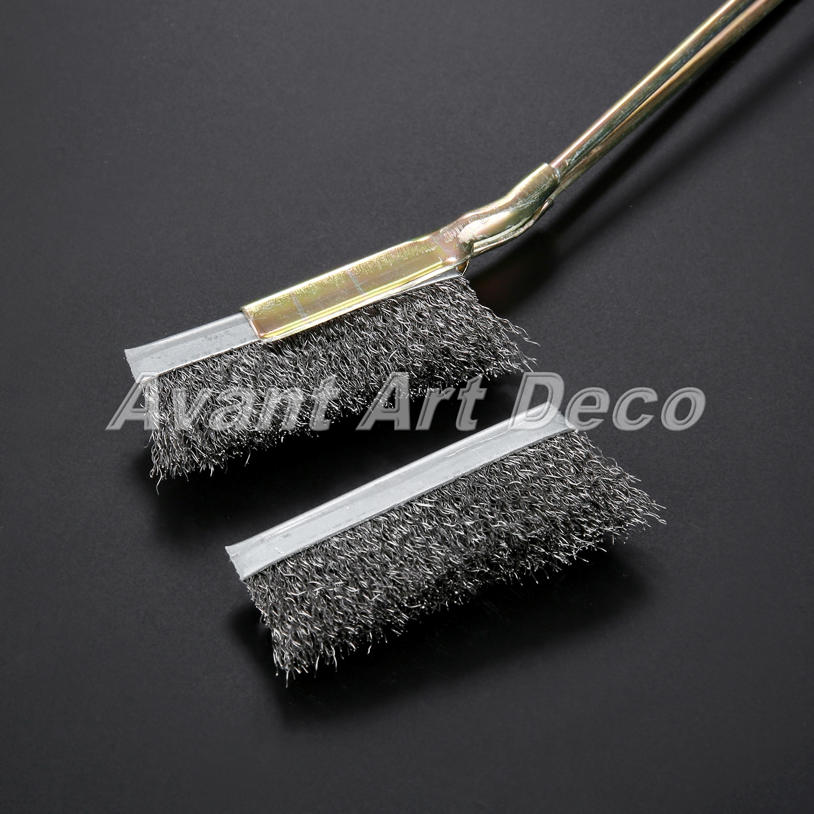STEEL WIRE BRUSH DIY RUST PAINT REMOVER REMOVAL METAL ABRASIVE DECORATING
